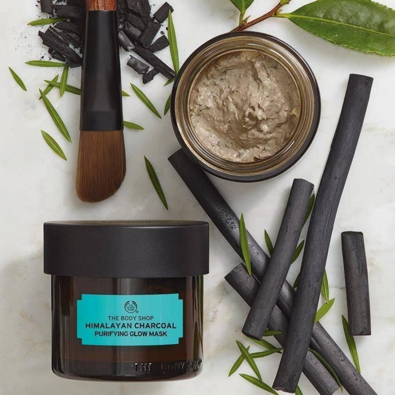 Review mặt nạ The Body Shop Himalayan Charcoal Purifying Glow Mask